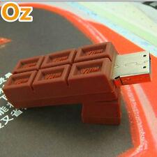 Milk Chocolate USB Stick,16GB Quality Product USB Flash Drives WeirdLand