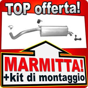 Scarico SEAT IBIZA SKODA FABIA VW POLO 1.9TDI 100CV 03-09 Marmitta XYM