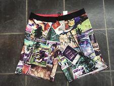 """Reebok Crossfit Mens Board Shorts 37"""" Waist Slim Fit Brand New"""