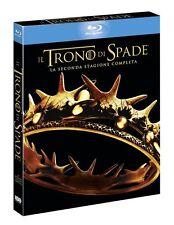 IL TRONO DI SPADE STAGIONE 2 5 BLU-RAY SIGILLATO - EDIZIONE ITALIANA HBO