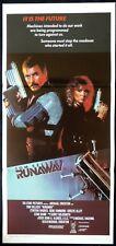 RUNAWAY Original Daybill Movie poster Tom Selleck Gene Simmons Cynthia Rhodes