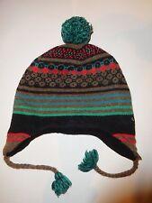 joli bonnet catimini garcon taille 3/4/5 ans peruvien doublé polaire tbe