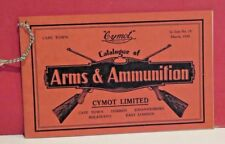 Cymot Limited-Cape Town-South Africa-Arms and Ammunition Catalogue - 1939