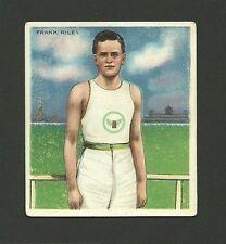 Frank Riley Track & Field 1910 Mecca Cigarettes Champion Athlete Card