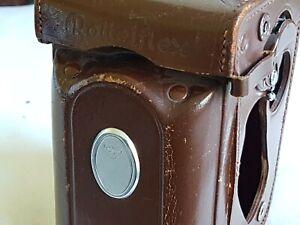 Rolleiflex Leather Case Genuine & Original MADE IN GERMANY