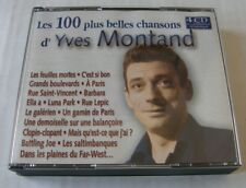 YVES MONTAND (BOX 4CD) LES 100 PLUS BELLES CHANSONS D'YVES MONTAND