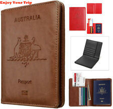 Rfid Blocking Passport Holder for Travel Accessories Passport Purse Card Wallet