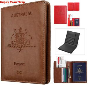Rfid Blocking Passport Holder for Travel Accessories Passport Purse Card Wallet