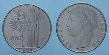 REPUBBLICA ITALIANA 100 LIRE 1959 R MINERVA qFDC/FDC
