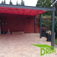 Winterpreis Wintergarten Überdachung Beschattung Stegplatten VSG-Glas Terrasse