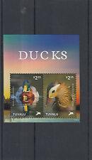 Tuvalu 2014 Gomma integra, non linguellato Anatre 2v S/S II Birds Mallard FRANCOBOLLI ANATRA MANDARINA