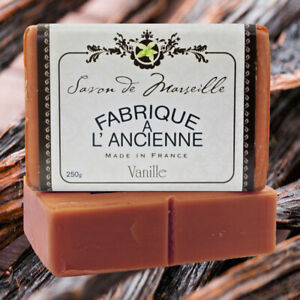 Luxury French Soaps Vanilla 250g - Made in Marseille France