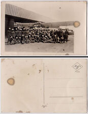 BULGARIA - Pre WW1 PHOTO PC Military Aircraft - Bozhurishte Airport ?