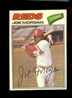 1977 Topps Cloth Stickers #31 Joe Morgan Cincinnati Reds HOF NM/MT