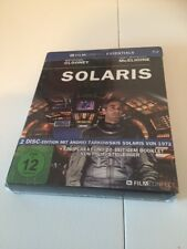 Solaris 2002 Blu-ray 2 Disc Digipack German Import Clooney Soderbergh