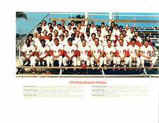1983  PHILADELPHIA PHILLIES  8X10 TEAM PHOTO  BASEBALL COMBINED SHIPPING!!!