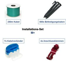 Installations-Set M+ Wolf Garten Robo Kabel Haken Verbinder Installation Paket