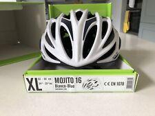 Kask Mojito Bianco-Blue XL cm Cycling Helmet