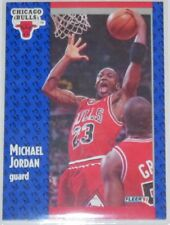 1991/92 Michael Jordan Chicago Bulls NBA Basketball Fleer Base Card #29 NM Cond