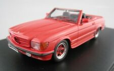 Mercedes Benz AMG 500 sl r107 rojo 1983 GLM 1:43 OVP nuevo
