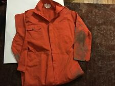 Eric's Donnie Wahlberg Dirty orange coveralls worn in cell in Saw 4 Jigsaw