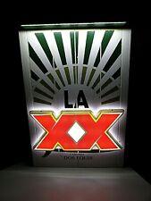 """13""""x 20"""" New La Dos Equis Xx Lager Cerveza Led Beer Bar Sign Light Surfboard"""