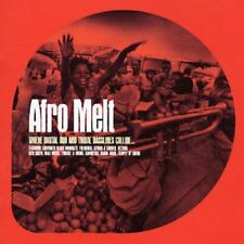 AFRO MELT various (CD, compilation, 2002) dub, downtempo, tribal, very good