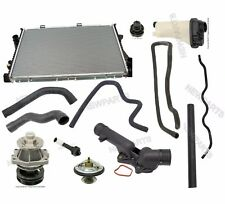 BMW E39 528i Radiator Water Pump Thermostat Expansion Tank & Sensor Cooler Kit