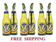 CORONA EXTRA LIGHT CINCO DE MAYO 6 BEER BOTTLE KOOZIE COOLIE COOLERS HUGGIE NEW