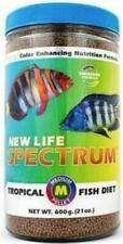 New Life Spectrum Tropical Fish Medium Pellet Fresh & Marine Fish Food 600g