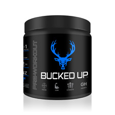 DAS LABS Bucked Up Pre Workout Supplement - BLUE RAZ (RASPBERRY)