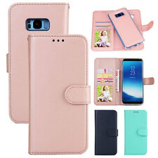 For Samsung Galaxy S8 Plus Wallet Case Leather Magnet Removable Phone Bag Cover