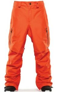 ThirtyTwo TM 20K Mens 32 Repel Snowboard Ski Pants Medium Orange NEW