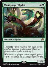 MANAGORGER HYDRA Magic Origins MTG Green Creature — Hydra Rare