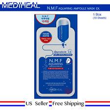 Mediheal NMF Aquaring Ampoule Mask 1Box (10sheet) Pore [ US Seller ]