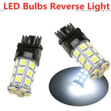 2x 3157 3457A 3156 27 SMD LED Brake Stop Turn Signal Light Bulb Lamp White 6000K