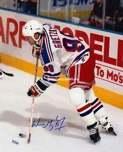 Wayne Gretzky Autographed Signed 8x10 Photo (NHL Oilers Rangers HOF) REPRINT