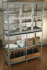 Kitchen Dresser French Industrial Kitchen Storage Unit Buffet and Hutch NEW