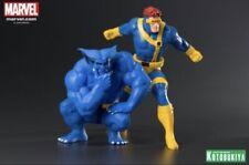 KOTOBUKIYA Marvel Universe X-Men 1992 Cyclops and Beast 2-Pack ARTFX+ Statue