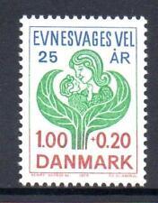 Denmark Mnh 1977 Sg639 25Th Anv Of Danish Society For The Mentally Handicapped
