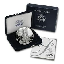 2007-W Silver Eagle Dollar Proof - $1 U.S. Mint 1 oz .999  with Box & COA