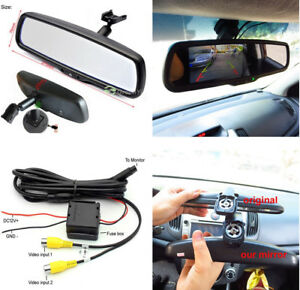 1PC Auto Rear View Mirror Monitor 4.3 Inch Resolution TFT LCD Color Car Monitor