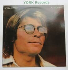 JOHN DENVER - Autograph - Excellent Condition LP Record RCA PL 13449