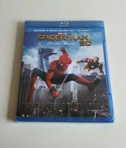 Spiderman Homecoming Blu-ray 3d Fuori Catalogo Nuovo