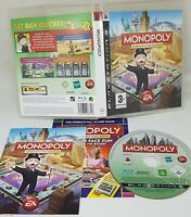 PS3 Monopoly Sony PlayStation 3 2008 EXCELLENT CONDITION FAST FREE UK POST
