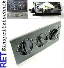 Heizungsbetätigung Gebläseschalter Blende 6N0819045A VW Polo original