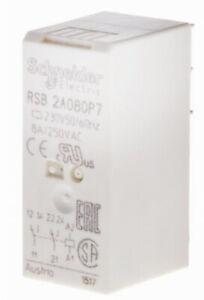 relais Schneider RSB2A080P7 8A 2RT 230Vac =FINDER 415282300010