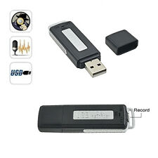 REGISTRATORE VOCALE USB 8GB VOICE RECORDER USB MICROSPIA PEN DRIVE SPY SPIA