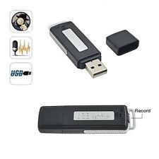 REGISTRATORE VOCALE USB 8GB VOICE RECORDER USB MICROSPIA PEN DRIVE SPY SPIA