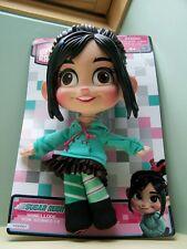 """New Wreck it Ralph Vanellope Von Schweetz Plush Buddy Doll Sugar Rush Disney 11"""""""